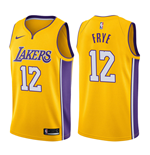 Los Angeles Lakers Channing Frye Nike Association Edition Replik Trikot