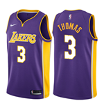 Los Angeles Lakers Isaiah Thomas Nike Statement Edition Replik Trikot