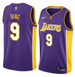 Los Angeles Lakers Luol Deng Nike Statement Edition Replik Trikot