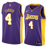 Los Angeles Lakers Alex Caruso Nike Statement Edition Replik Trikot