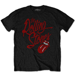 T-Shirt The Rolling Stones - Script Logo (SOFT-HAND INKS) (T-SHIRT Unisex )