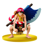 One Piece Film Gold SCultures Figur Big Zoukeio Special Ruffy 12 cm