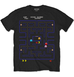 Pac-Man T-Shirt für Männer - Design: Game Screen