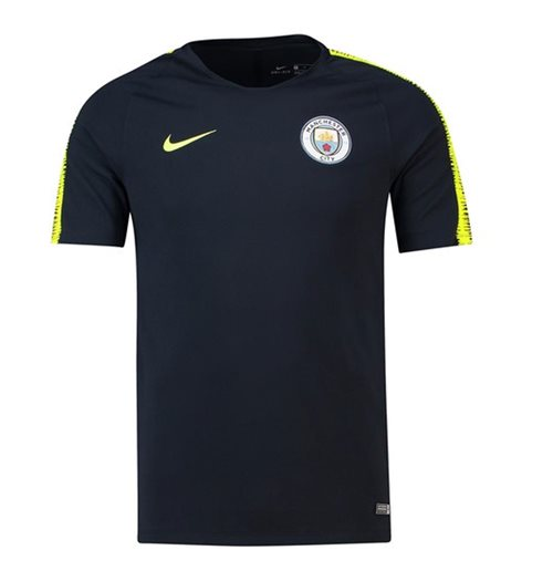 T-Shirt Manchester City FC 2018-2019 (Marineblau)