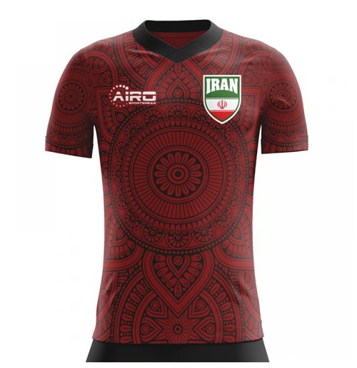 T-Shirt Iran Fussball 2018-2019 Away Concept