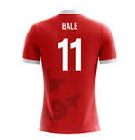 T-Shirt Wales Fußball 2018-2019 Home (Bale 11)