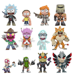 Rick and Morty Mystery Mini Minifiguren 5 cm Display Series 2 (12)