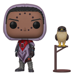 Destiny POP! Games Vinyl Figur Hawthorne w/ Hawk 9 cm