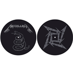 Metallica Slipmat - Design: The Black Album