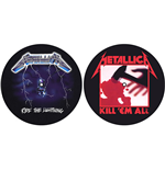 Metallica Slipmat - Design: Kill 'em all / Ride the Lightning