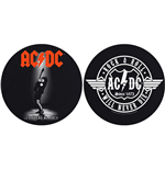 AC/DC Slipmat - Design: Let There Be Rock/Rock & Roll