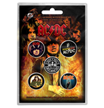 AC/DC Brosche - Design: Highway to Hell