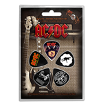 AC/DC Plektrum - Design: Highway / For Those / Let There