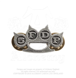 Five Finger Death Punch  Brosche - Design: Knuckle Duster
