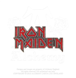 Iron Maiden Brosche - Design: Enamelled Logo