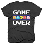 Pac-Man T-Shirt für Männer - Design: Game Over