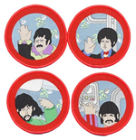 The Beatles Aufnäher - Design: Yellow Submarine Cartoon Port Hole
