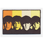 The Beatles Aufnäher - Design: Heads in Bands