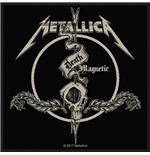 Metallica Aufnäher - Design: Death Magnetic Arrow (Loose)