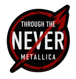 Metallica Aufnäher - Design: Through the Never