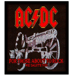 AC/DC Aufnäher - Design: For those about to Rock