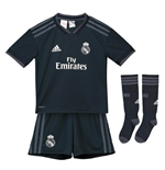 Fußballtrikot-Set für Kinder Real Madrid 2018-2019 Away