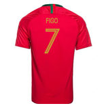 2018/2019 Trikot Portugal Fussball 2018-2019 Home  (Figo 7)