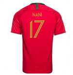 2018/2019 Trikot Portugal Fussball 2018-2019 Home (Nani 17)