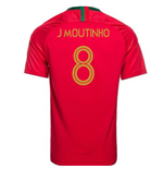 2018/2019 Trikot Portugal Fussball 2018-2019 Home  (J Moutinho 8) für Kinder