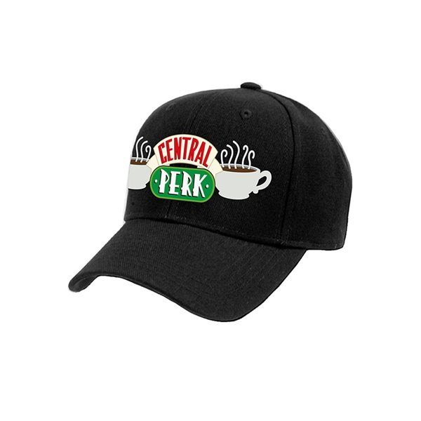 Kappe Friends  - Central Perk Logo in schwarz