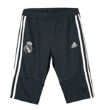 Trainingshose Real Madrid 2018-2019 (Dunkelgrau) Adidas Quarter Length Pants (Dark Grey)