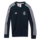 Sweatshirt Real Madrid 2018-2019 (Dunkelgrau)