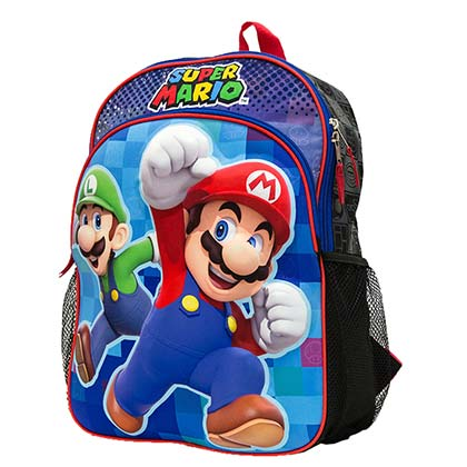 Rucksack Super Mario and Luigi Brothers
