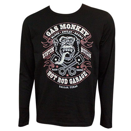 Sweatshirt Gas Monkey Garage Blood Sweat and Beer