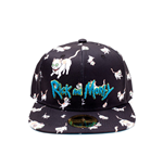 Rick and Morty Snapback Cap Cats AOP