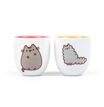 Pusheen Eierbecher Doppelpack Stormy & Pusheen