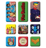 The Beatles Magnet - Design: Sgt Pepper