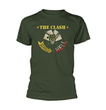 T-Shirt The Clash  STRAIGHT ACES
