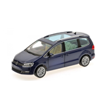 VOLKSWAGEN SHARAN 2010 BLUE METALLIC