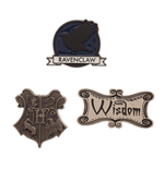 Harry Potter Ansteck-Buttons 3er-Pack Ravenclaw