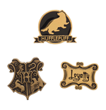 Harry Potter Ansteck-Buttons 3er-Pack Hufflepuff