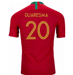 2018/2019 Trikot Portugal Fussball 2018-2019 Home (Quaresma 20)