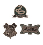 Harry Potter Ansteck-Buttons 3er-Pack Slytherin