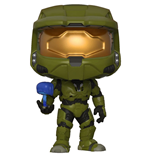 Halo POP! Games Vinyl Figur Master Chief with Cortana 9 cm