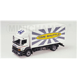 MERCEDES ATEGO BOX TRUCK HAMMER TIMESHUTTLE