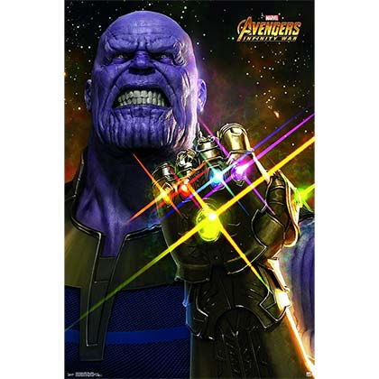 Poster  - The Avengers Infinity War Thanos