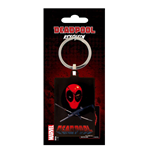 Deadpool Metall Schlüsselanhänger Eye Patch 6 cm