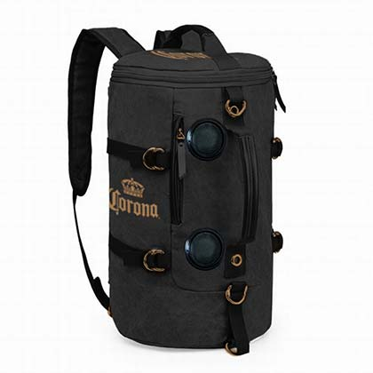 Rucksack Corona. CORONA EXTRA Soft Rucksack Wireless Bluetooth Speakers Black Cooler