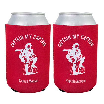 CAPTAIN MORGAN Red Bierkanne Kühler Set 2