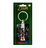 Legend of Zelda Ocarina of Time Metall Schlüsselanhänger 6 cm